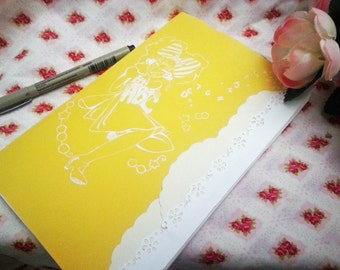 Sketch Books Yello and Red