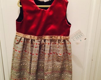 12 days of christmas girls dress