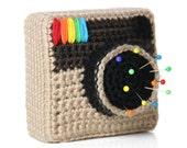 Instagram Inspired Pin Cushion PDF Pattern