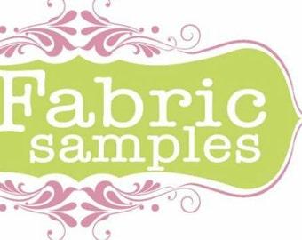Fabric swatches request, color comparison