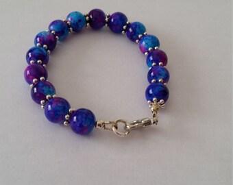 Colorful Bracelet. Blue,purple,