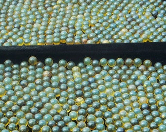 1kg. Amber Spheres B+ 12-13mm