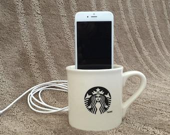 Starbucks iphone 6 charger / docking station