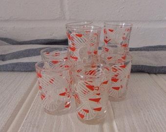 Retro Shot Glasses