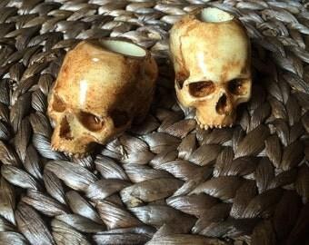 Skull Ring Bauble (Resin)