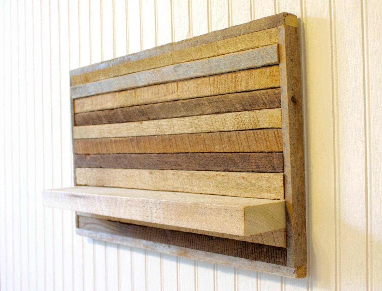Shelf Reclaimed Wood Wall Art