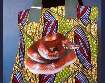 Snake Tote Shopping Bag