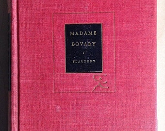 Madame Bovary Flaubert Modern Library 1948