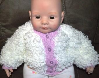 Baby girls loopy jacket PAT 109 D 1