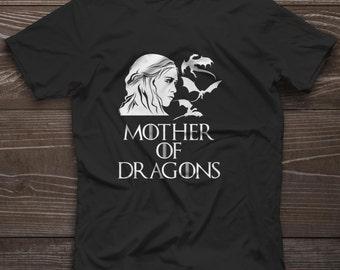 Daenerys Stormborn Mother of Dragons T-Shirt Game of Thrones Khaleesi Tee New