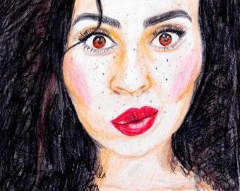 custom portrait-custom portrait drawing-custom painting-custom portrait illustration-custom portrait from photo-custom portrait watercolor