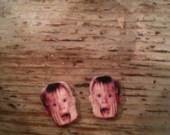Home Alone Kevin McCallister Macaulay Culkin Earrings