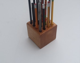 Classic Wooden Pencil/Pen/Color Pencil Holder