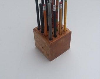 Classic Wooden Pencil/Pen/Color Pencil Holder