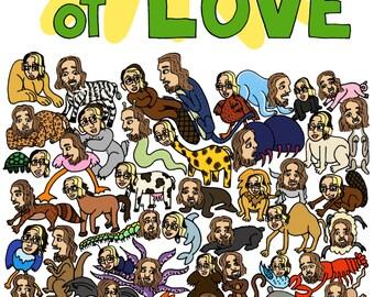 Zine- Safari Park of Love