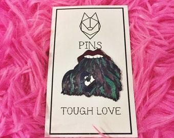 Tough Love Lapel Pin