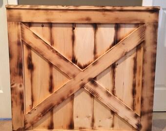 Custom Rustic Baby/Dog Gate