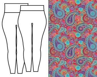 Paisley Swirl Leggings
