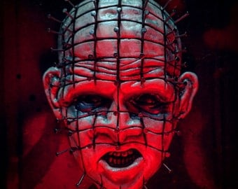 Horror Icons Series I Number III: Hellraiser Pinhead Magnet Wall Plaque