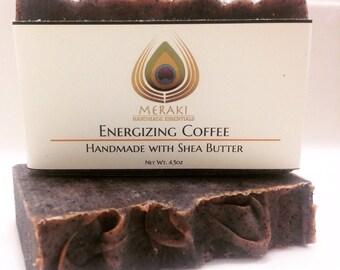 Energizing Coffee Soap w/ Shea Butter
