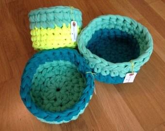 Basket bicoloured hook