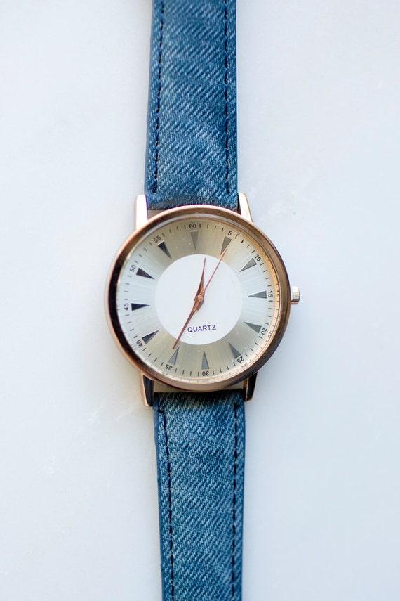 Bleu denim montre minimaliste montre minimaliste montres for Mouvement minimaliste