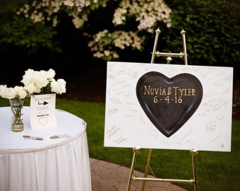 Wedding Guest Canvas --- Made to Order