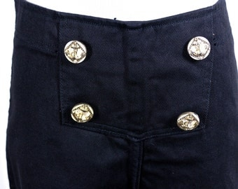 High Waisted Fredericks of Hollywood Black Jeans