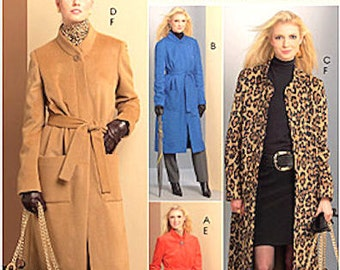 McCall's Palmer Pletsch sewing pattern - coats and tote - Size 8-10-12-14