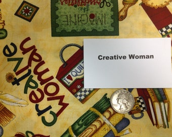 Creative Woman Fabric - 43 inches