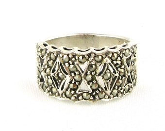 Vintage Marcasite Ring
