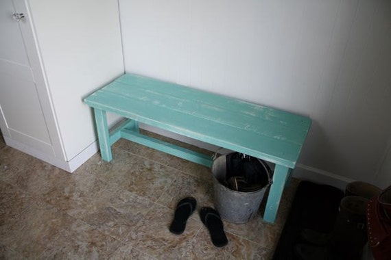 Items Similar To Rustic Sitting Bench Seating Shoes For Entryway Or Storage Wooden Wood On Etsy