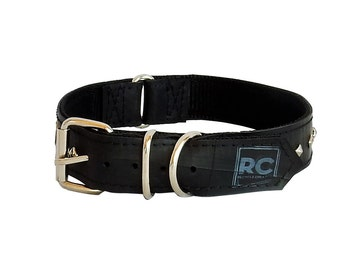 Eco Fashion Doggie Collar made from Reclaimed Inner Tube