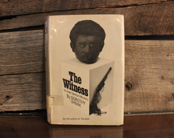 The Witness by Dorothy Uhnak (1st Print)