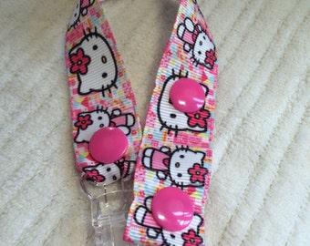 Hello Kitty (pink) Dummy Clip