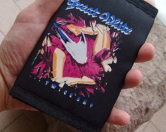 Great White , wallet original 1989 ...Twice Shy   Great White