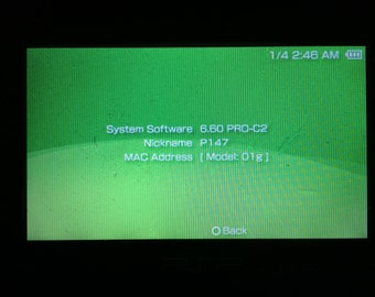 PSP 1000 CFW w/2 GB Memory stick