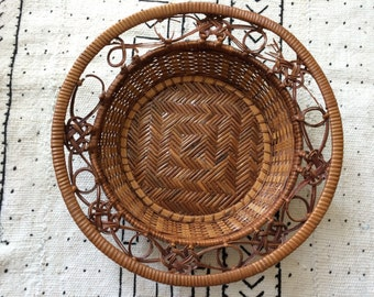 As is-rattan basket