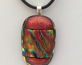 Copper Dichroic Pendant