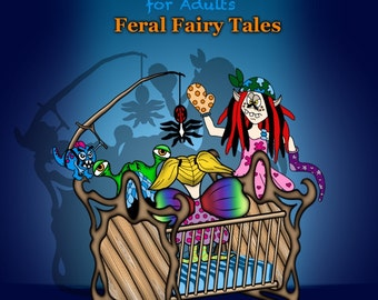 PERFECT BOUND - Feral Fairy Tales (Absurd JUST Coloring)