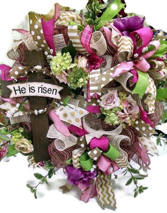Christian Cross And Wreath Christian