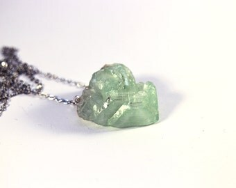 One of!!! Fluorite Flower Crystal Necklace (one of)