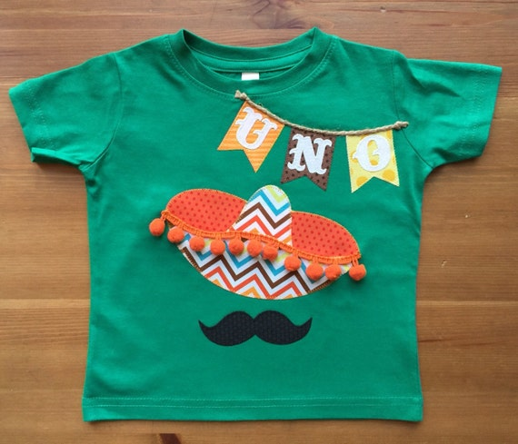 UNO Fiesta Sombrero Birthday Tee with Age