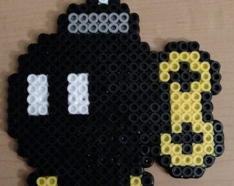 Bomb-Omb (Mario) Perler