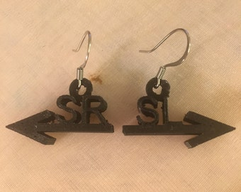 Stage direction earrings