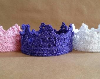 Crochet Princess Crown