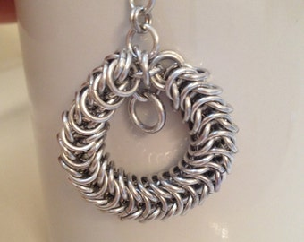 Box Chain Chainmaille Pendant