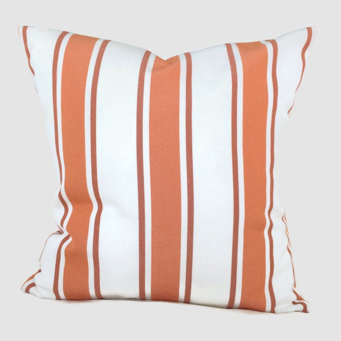Throw Pillow Rust : Sunbrella Pillow Throw Pillow Rust Orange Indoor Outdoor