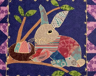 Quilt Art:  Easter Bunny