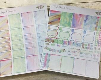 Watercolor Theme Kit